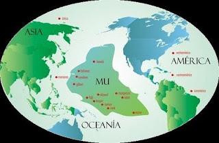 Mapa Continente Mu