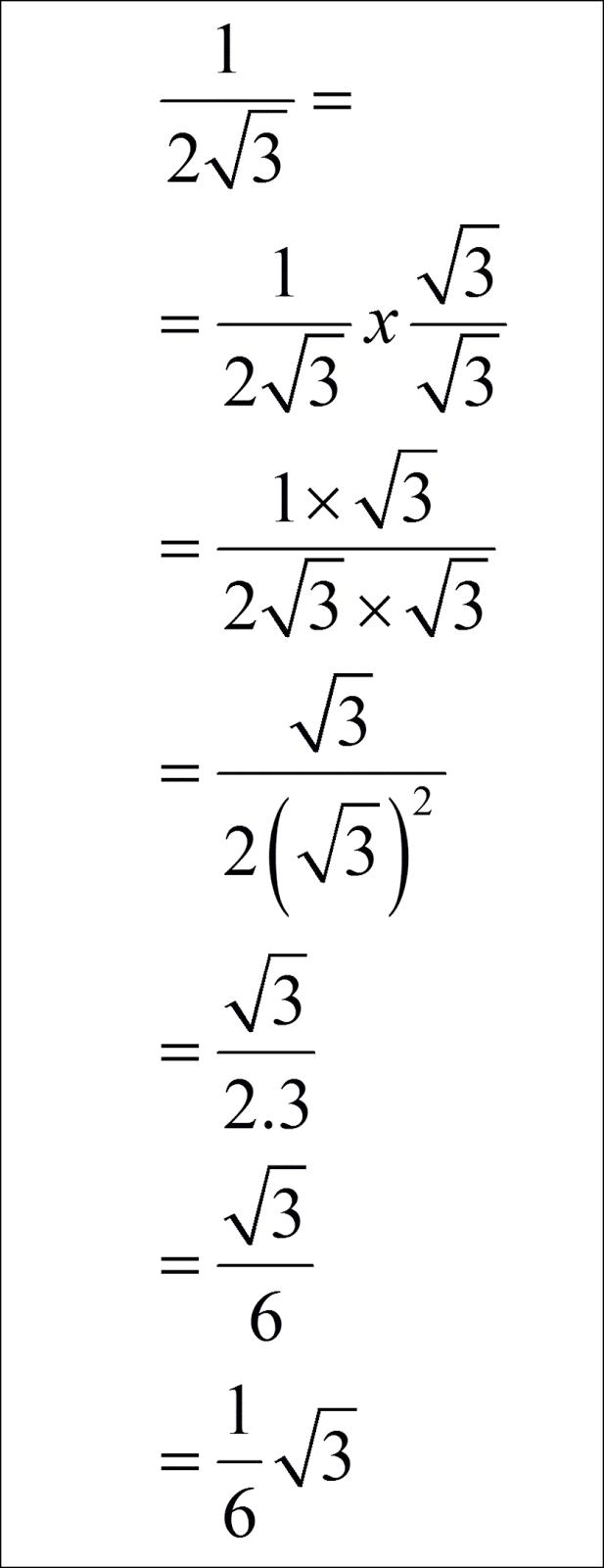 Rumus Bentuk Sederhana : rumus, bentuk, sederhana, Mencari, Bentuk, Sederhana, Pecahan, Dengan, Penyebut, Berakar, Solusi, Matematika