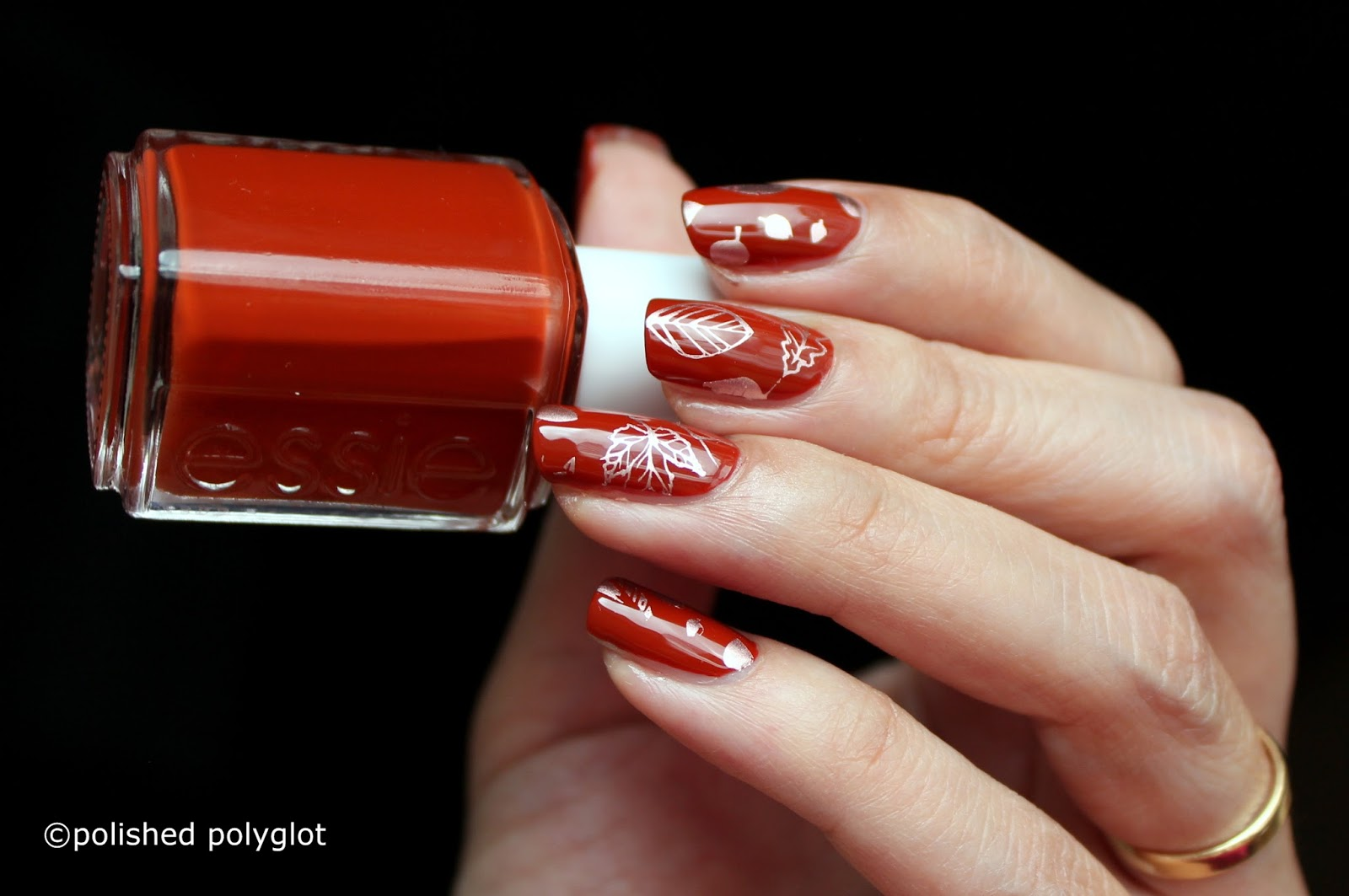 Nail art │Autumn inspired manicure to welcome the season / Polished ...