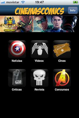¿Tienes IPhone? Tienes Cinemascomics