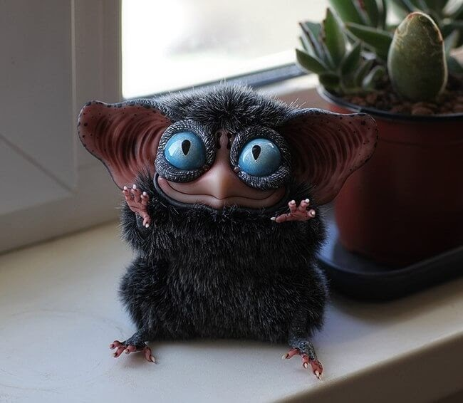 11-Sowl-mini-Grey-beast-Santaniel-Santani-Dolls-of-Little-Fantasy-Russian-Creatures-www-designstack-co