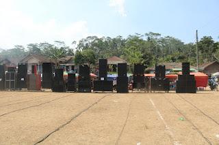 Sebagian Sound System Dalam Acara Deklarasi Fosstip