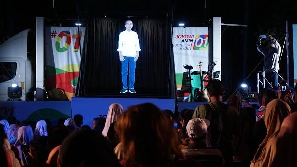 Kampanye Konvensional Prabowo-Sandi Lebih Ampuh Dari Hologram Jokowi-Maruf