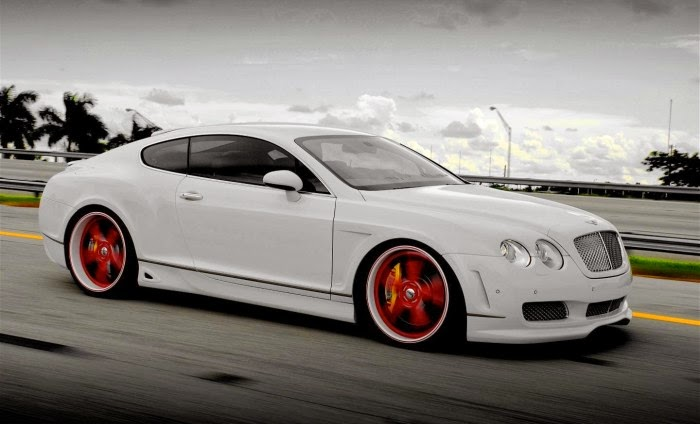 White Bentley Luxury Car Hd Desktop Wallpaper Sport Car Pictures