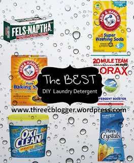 Best DIY Laundry Detergent Recipe