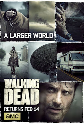 "The Walking Dead Season 6 Part II ""A Larger World"" Television Poster"