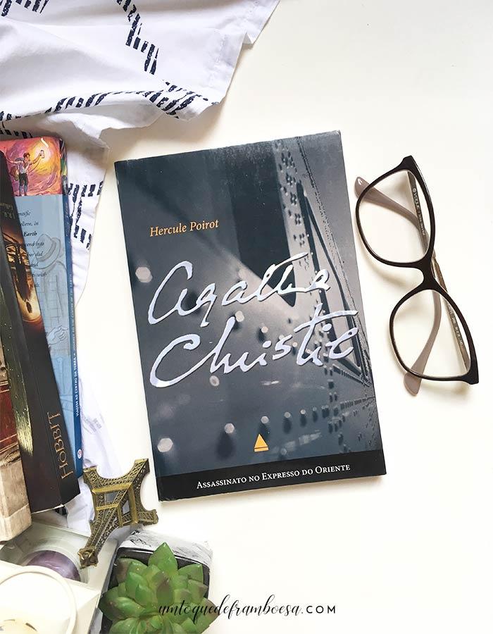 Assassinato no Expresso do Oriente, um livro da escritora de romances policiais Agatha Christie