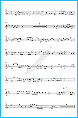 skyfall sheet music