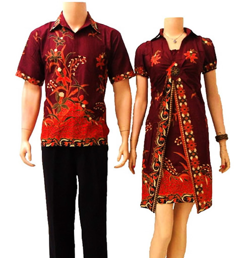 Batik Sarimbit Dalam Aneka Model Baju Batik Modern