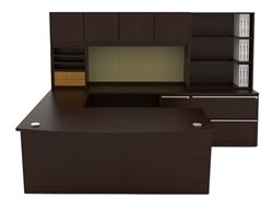 Dark Wood Office Furniture