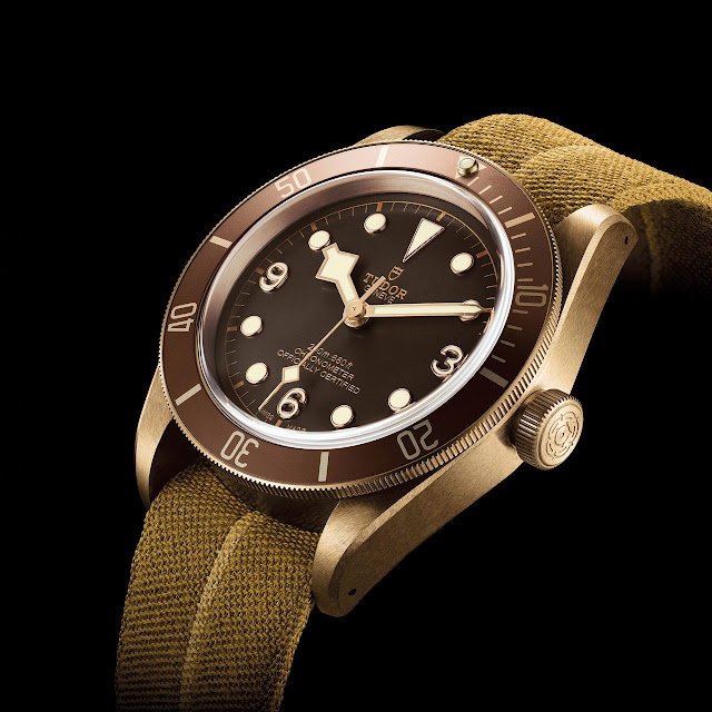Tudor Heritage Black Bay Bronze Mechanical Automatic Watch