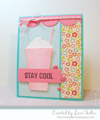 Stay Cool card-designed by Lori Tecler/Inking Aloud-stamps and dies from My Favorite Things