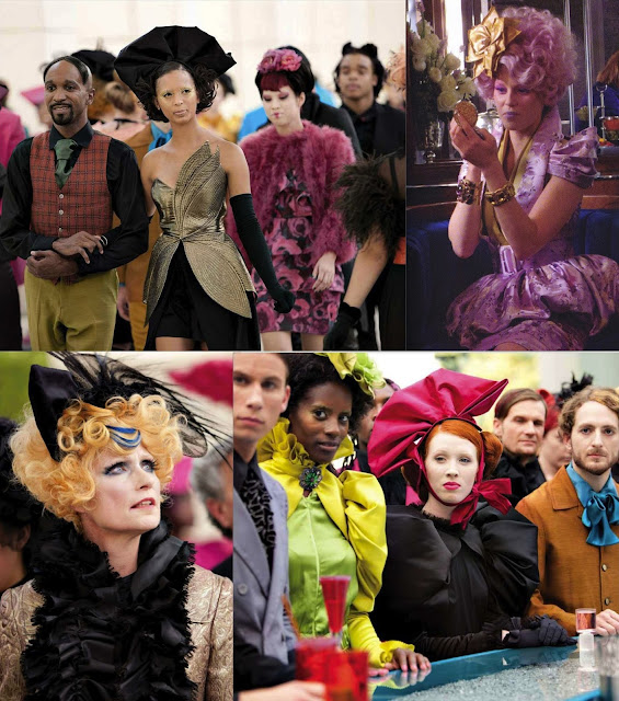 The Hunger Games - Fashion and costumes in Capitol City