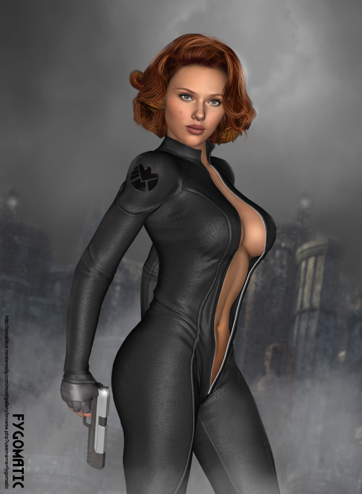 Cosplay Black Widow Avengers, posted on Saturday,11 August 2018
