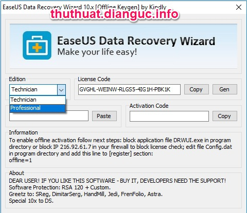 easeus data recovery wizard 11.6 license key