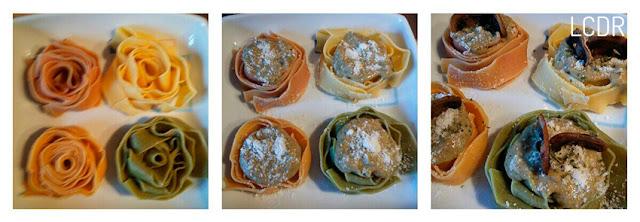 Receta de pappardelle con salsa de champiñones 03