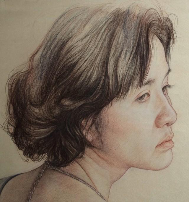 Карандашные портреты. William Wu 6