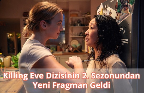 Killing Eve 2. Sezon Fragman İzle