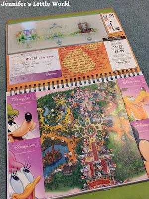 Disneyland Paris smash book page