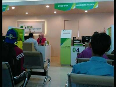Kantor cabang BPJS Ketenagakerjaan kota Bekasi