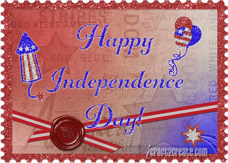 Digital, Lettering Delights, Independence Day, Patriotic, Photoshop,July