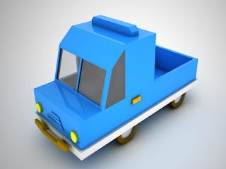 Download Low Poly Toy Car 2