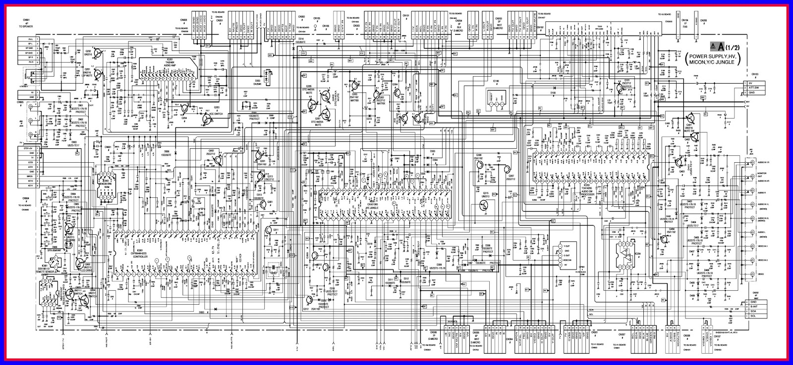 sony tv diagram wiring diagram for light switch u2022 sony crt tv schematic diagram sony [ 1600 x 738 Pixel ]