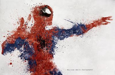 Pintura de spider man