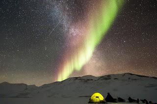 Zorza polarna Autor: Noel Bauza