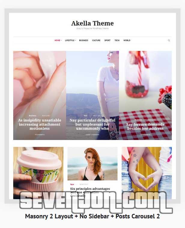 Akella - Personal Blog & Magazine Theme