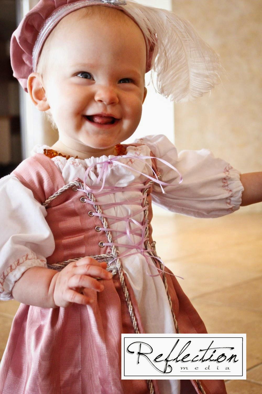 Adorable Little Girlu0027s Renaissance costume by Matti Online.  sc 1 st  Handmade Unique & Handmade Unique: Uniquely Renaissance : Handmade Garb for all your ...