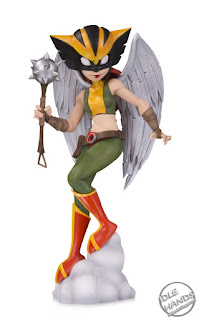 SDCC 2018 DC Collectibles Artists Alley Designer Vinyls Chrissie Zullo Hawkgirl