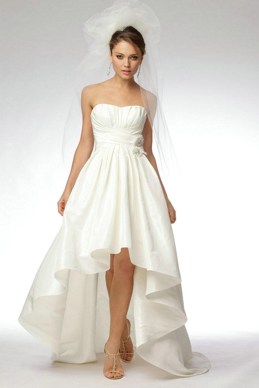 Vestidos de novias bajitas