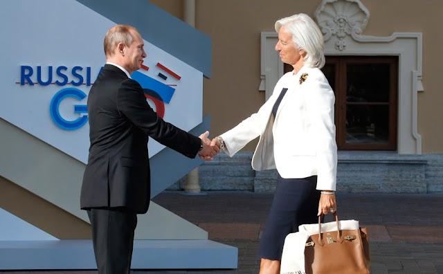 ΔΝΤ: Σε τροχιά εξυγίανσης η ρωσική οικονομία