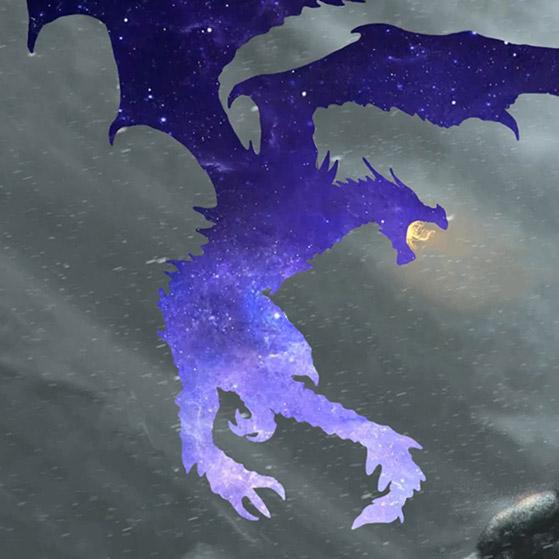 Star Dragon Wallpaper Engine