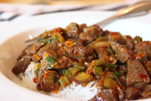Spicy Orange Zest Beef – It Is What It Is