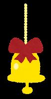 クリスマスの飾りのイラスト(ベル2)