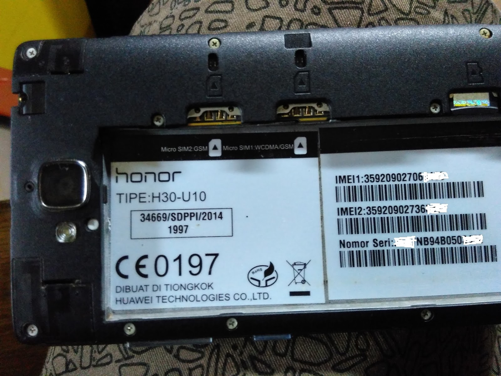 Huawei Honor 3c H30-u10 Firmware Flashtool
