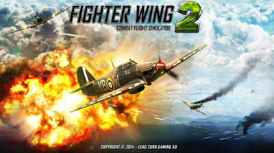 Download FighterWing 2 Flight Simulator Mod Apk + Data Terbaru