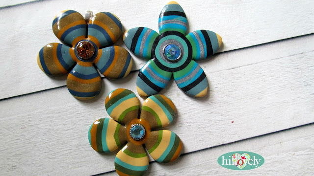 , free fimo tutorial,hillovely, hilla bushari,fimo pendant, polymer clay jewelry,