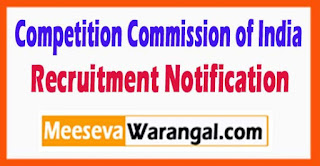 CCI Competition Commission of India Recruitment Notification 2017 Last Date 14-06-2017