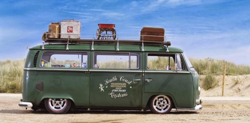 Low Light Bay Window Vw Bus Wagon