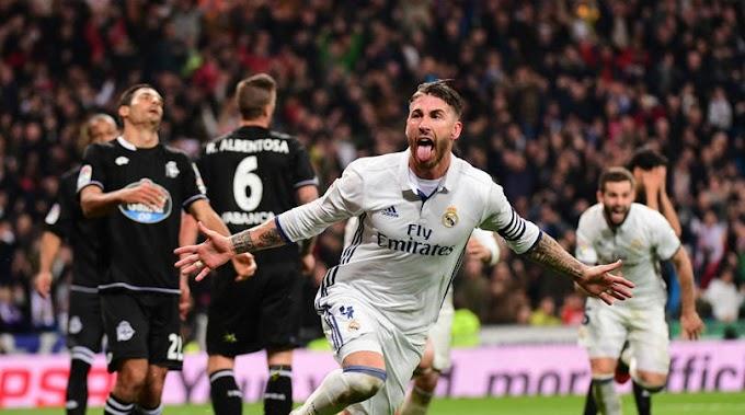 I wanted to play Ramos as a forward - Ancelotti
