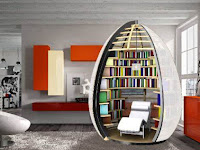 Modern Minimalist Living Room Modern Bookshelf Design