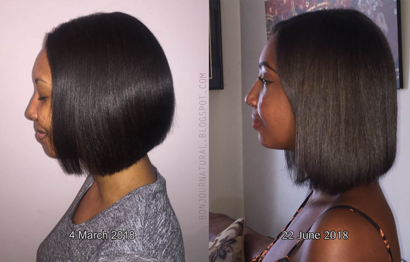 Length hair what my is 5 Women's