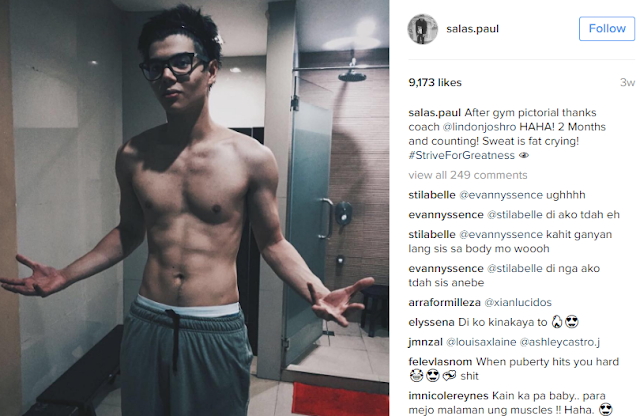 Newest HUNK: Paul Salas Unveiled His Six-Pack Abs That Will Make The Girls Go Crazy!
