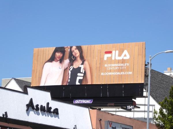 Fila Spring 2017 billboard