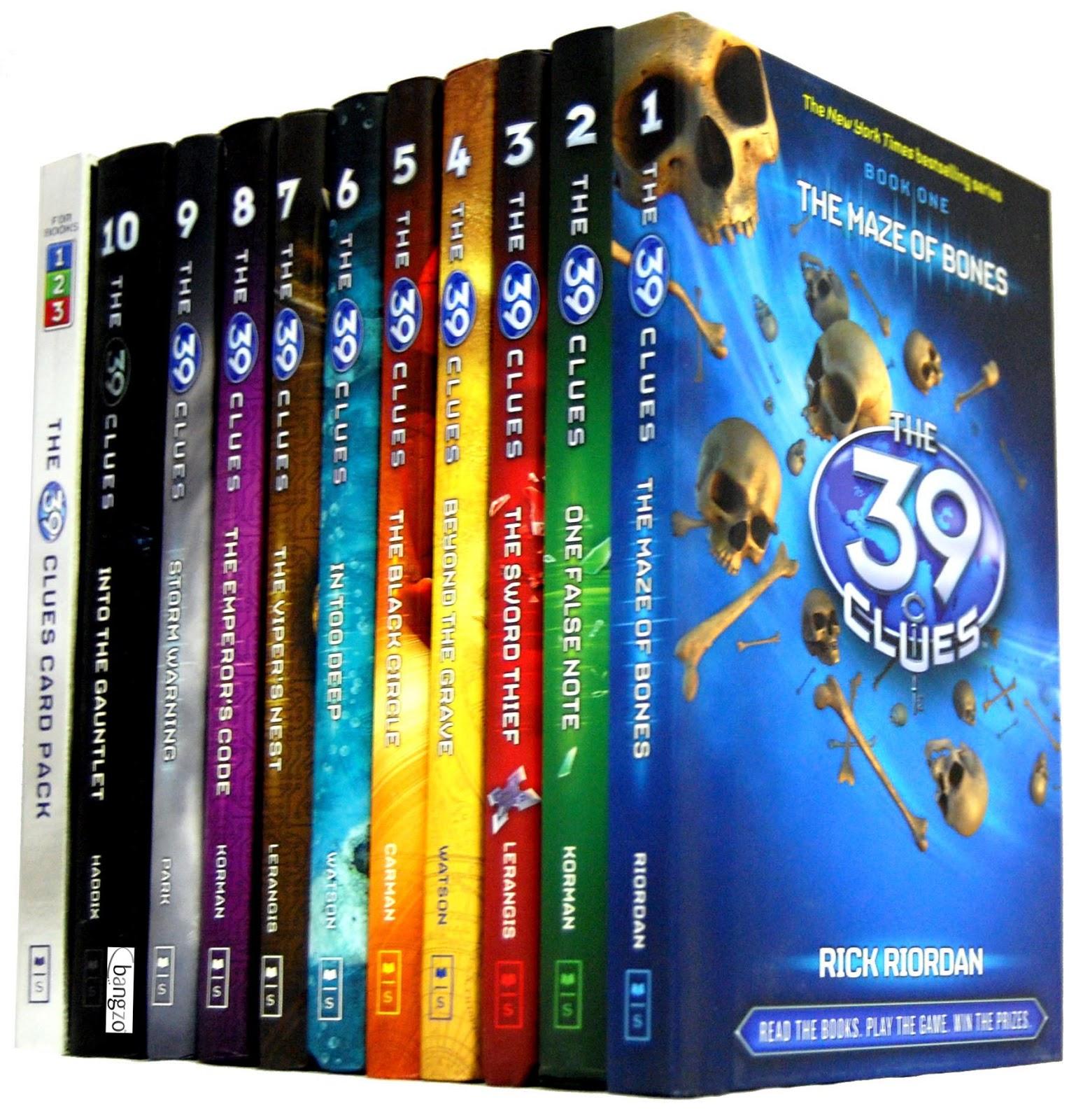 The 39 clues livro 1