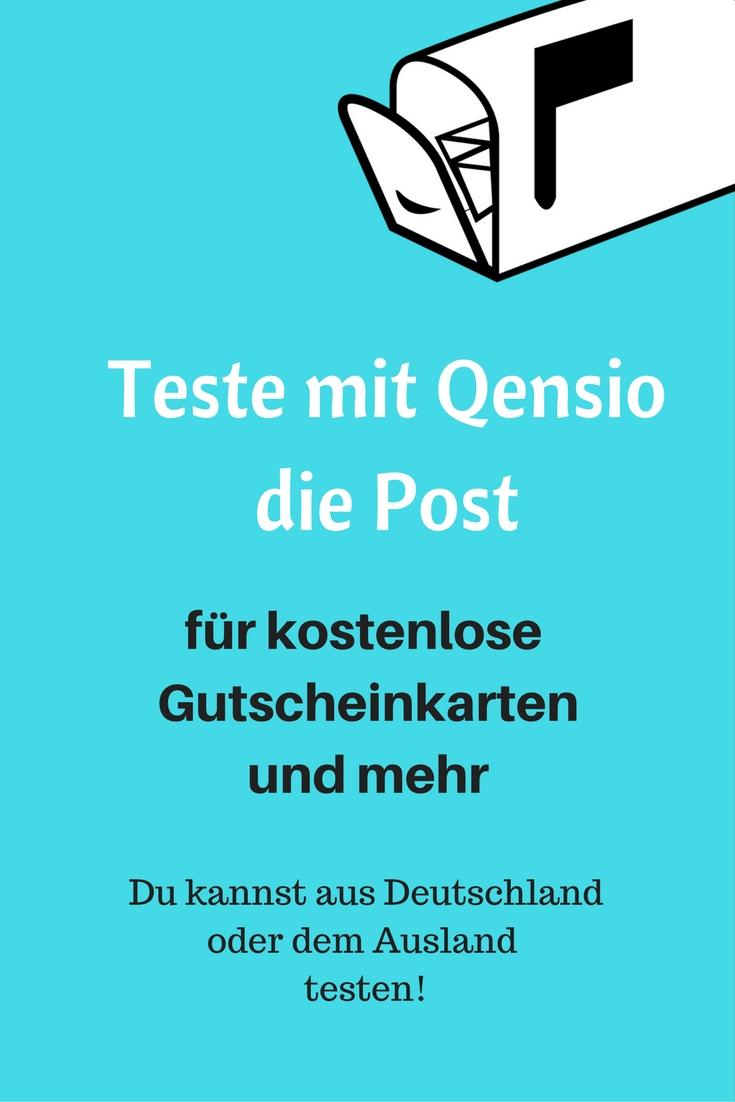 Teste die Post und erhalte Amazon Gutscheinkarten