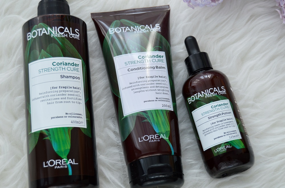 Botanicals Fresh Care - Kuracja wzmacniająca z kolendrą